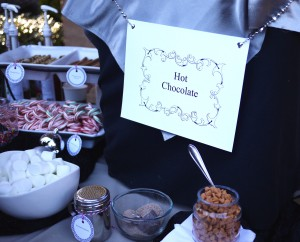 Hot Chocolate Catering Station